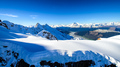 Aerial view of the Southern Alps in New Zealand - PhotoDune Item for Sale