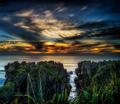 Sunset on the West Coast of New Zealand - PhotoDune Item for Sale