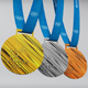 Pyeongchang 2018 olympic medal low poly - 3DOcean Item for Sale