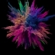 Colored Explosion of Powder - VideoHive Item for Sale