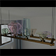 Chandelier Dining Room - 3DOcean Item for Sale