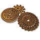 Steampunk Gear Pack - 3DOcean Item for Sale