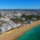Aerial from the Village Albufeira at the Southcoast in Portugal - VideoHive Item for Sale