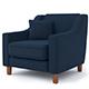 contemporary armchair - 3DOcean Item for Sale