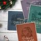 4 Vintage Christmas Cards vol. 2 - GraphicRiver Item for Sale