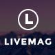 LiveMag - Multipurpose Magazine Theme - ThemeForest Item for Sale