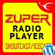 Zuper - Shoutcast and Icecast Radio Player With History - WordPress Plugin - CodeCanyon Item for Sale