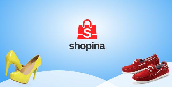 Shopina - Web App UI Kit eCommerce Mobile Template