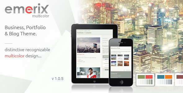 Emerix - Responsive WordPress Theme