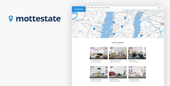 Mottestate - Real Estate WordPress Theme