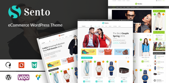 VG Sento - eCommerce WordPress Theme for Fashion Store