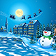 Snowman and Santa Claus - GraphicRiver Item for Sale