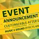 Event Announcement Promo - VideoHive Item for Sale