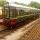 Vintage Train Engine Loop