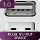 Plug IN / OUT Jacks - GraphicRiver Item for Sale