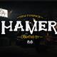 Hamer Typeface - GraphicRiver Item for Sale