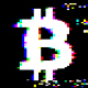 Bitcoin Glitch Logo - VideoHive Item for Sale