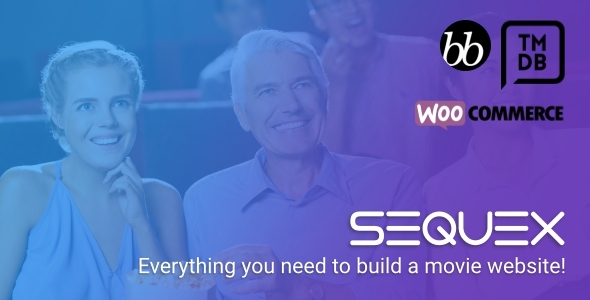 Sequex - WordPress Movie Database Theme