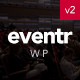 Eventr - One Page Event WordPress Theme - ThemeForest Item for Sale
