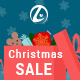 Christmas Sale banners with discount bag - GraphicRiver Item for Sale