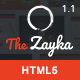 The Zayka - Multipurpose Restaurant & Cafe HTML5 Template - ThemeForest Item for Sale