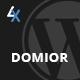 Domior - Creative Personal Portfolio WordPress Shop Theme - ThemeForest Item for Sale