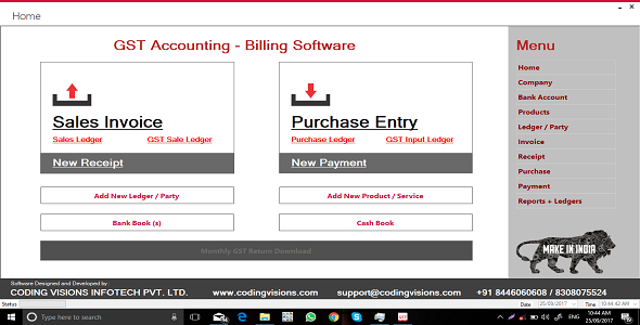 GST Accounting Software | Source Code Download