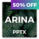 Arina - Creative Powerpoint - GraphicRiver Item for Sale
