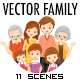 Vector Family Illustration Pack - GraphicRiver Item for Sale