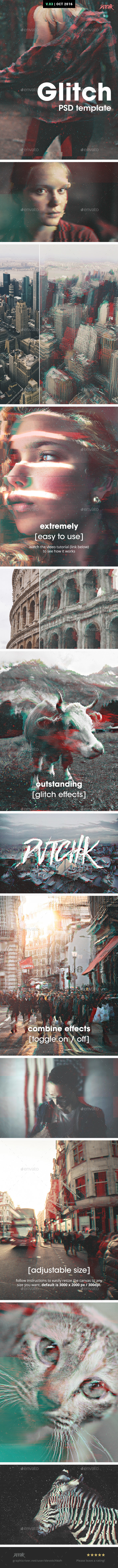 Glitch Photoshop Photo Template Free Download #1 free download Glitch Photoshop Photo Template Free Download #1 nulled Glitch Photoshop Photo Template Free Download #1