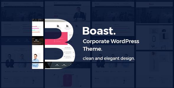 Boast - Business Corporate WordPress Theme