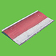 Smooth Red Curb - 3DOcean Item for Sale