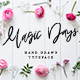 Magic Days Hand Drawn Font - GraphicRiver Item for Sale