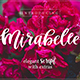 Mirabelle Script Font with Extras! - GraphicRiver Item for Sale