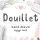 Douillet Hand Drawn Font! - GraphicRiver Item for Sale