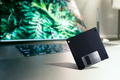 Old tech Floppy disk placed on Modern laptop - PhotoDune Item for Sale