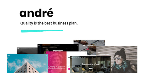 André - A Fresh Multipurpose WordPress Theme
