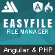 EasyFile - AngularJS & CodeIgniter File Manager - CodeCanyon Item for Sale