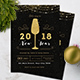 New Year Invitation - GraphicRiver Item for Sale