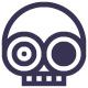 Crazy Skull Logo - GraphicRiver Item for Sale