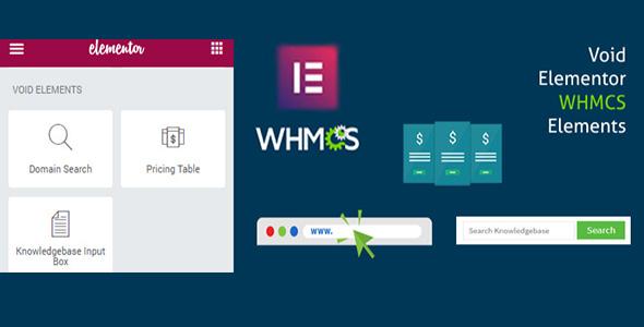 Elementor WHMCS Elements Pro For Elementor Page Builder, Gobase64
