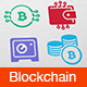 Blockchain Icons - GraphicRiver Item for Sale