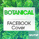 10 FacebookCover-Botanical - GraphicRiver Item for Sale