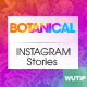 10 InstagramStories -Botanical - GraphicRiver Item for Sale