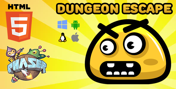 Dungeon Escape - HTML5 Game - Phaser Download