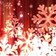Dark Red Christmas Snowflakes - VideoHive Item for Sale
