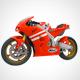 Motorcycle Honda rc213v (Moto GP) - 3DOcean Item for Sale