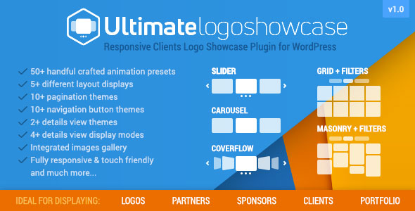 Ultimate Logo Showcase - Full Responsive Clients Logo Gallery Plugin for WordPress