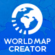 World Map Creator - VideoHive Item for Sale