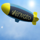 Logo On The Side Of A Blimp - VideoHive Item for Sale